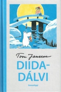 Kuvistuskuvassa Tove Janssonin kirjan Taikatalvi saamenkielinen kansikuva. Kustantaja: Sámediggi.