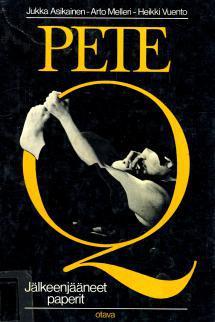 Pete Q -teoksen kansikuva